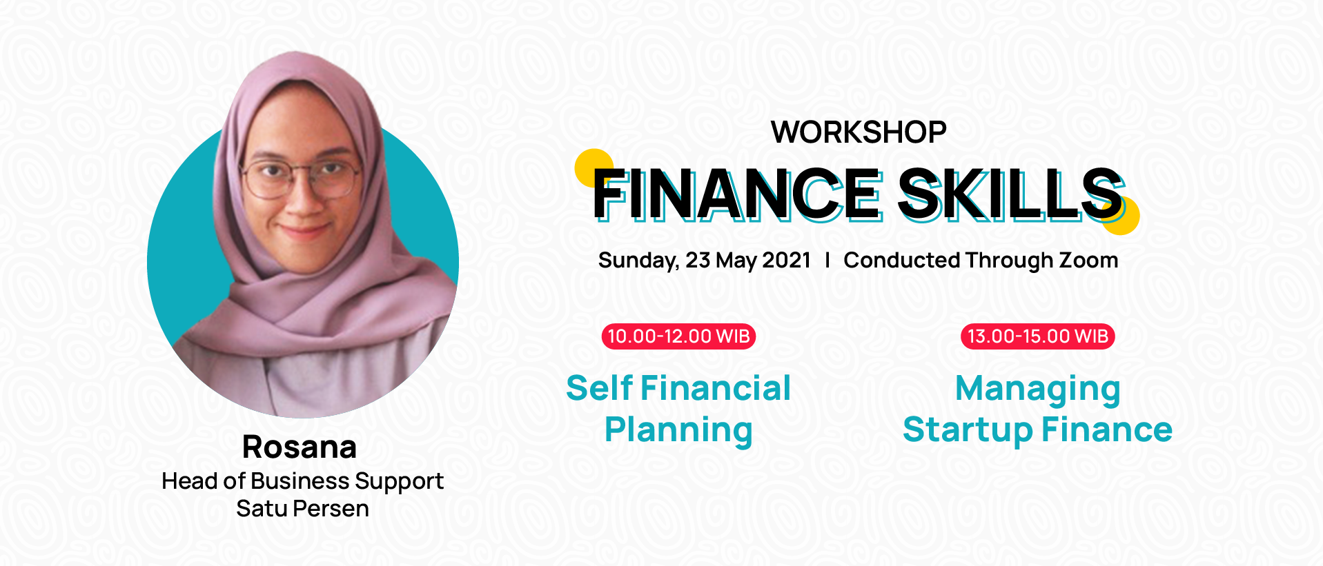 Workshop Finance Skills
